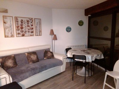 Photo for Pla d'Adet appt renovated slopes and hiking departure ideal family