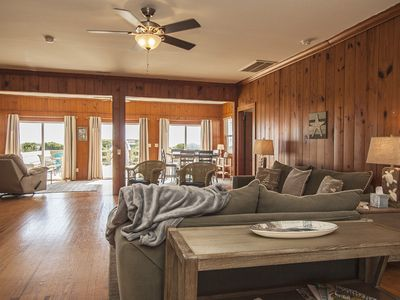 Photo for 6 Bed/5 Bath Oceanfront Rental with Hot Tub and Game Room on Caswell Beach