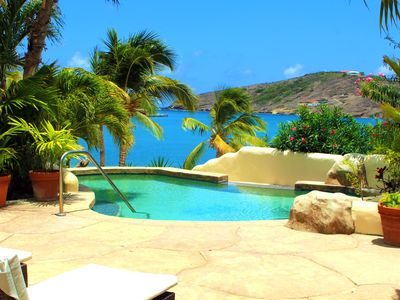 Photo for Private Beachfront Villa in St. James's Club Resort, Mamora Bay, Antigua