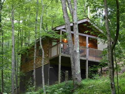 Photo for Private Authentic Log Cabin