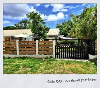 Photo for Suite Bali: charming T2 villa with private garden, close to Saline les Bains