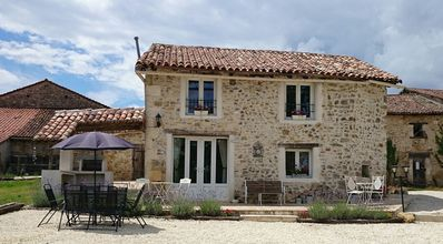 Photo for Shabby Chic Stone Barn Set In 3500 Sqm Of Land With Its Own Private Pool