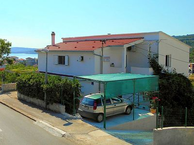 Photo for Holiday apartment with sea view 200 m from the beach