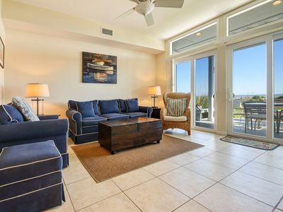 Photo for 3 Bed/3 Bath Oceanfront townhouse. Private carport, private decks & pool.  Sleeps 8.