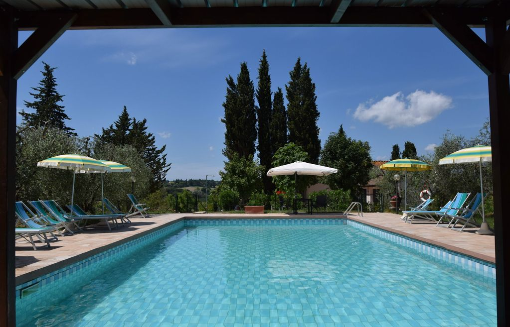 Apartment In House With Swimming Pool Homeaway Colle Di Val D 39 Elsa
