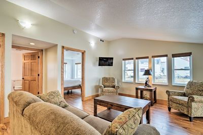 Kick back and relax during your time in Bay City with this vacation rental!