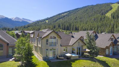 Photo for Stunning 6BR 6BA ski in ski out Golf Course Home! Hot Tub- Mountain views