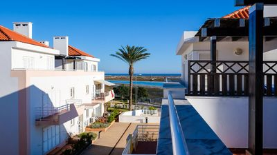 Photo for Enquiries Welcome! Algarve Tavira Penthouse Seafront Apt Free Wifi Air Con Shops