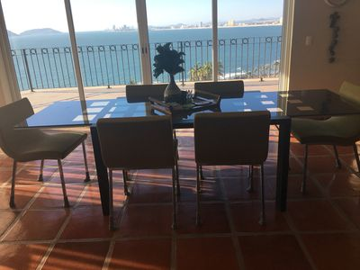 Dining for you and your guests with best day and night views in all of Mazatlan