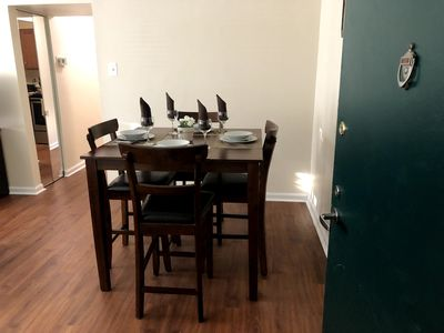 Photo for Charming 2 Bedroom Steps to The Convention Center with Balcony! 30 Day Rental