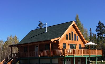 Brand New Log Home in Twin Mountain, 15 mins. to Bretton Woods and Cannon Mts.