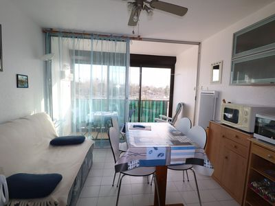 Photo for 2 rooms / cabin 4 pers. Pool - Air conditioning - Washing machine - Parking