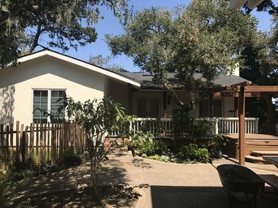 Photo for Guest House with Fireplace walking distance to Downtown Monterey and the Wharf