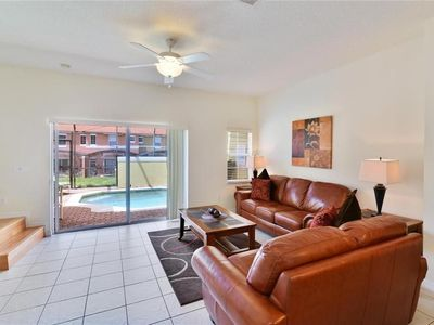 Photo for 3 Bed 2.5 Bath w/ private pool at Encantada Resort- 5 miles to Disney