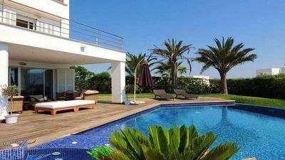 Photo for LUXURY VILLA WITH AMAZING VIEW TO THE MARINA OF CALA D´OR!!
