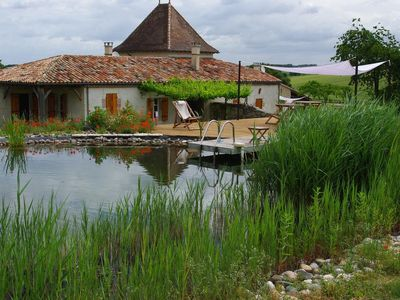 Photo for Wheat and its natural swimming pool