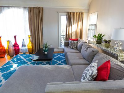Photo for Relax & Getaway Up In Chic Belmont Shore Duplex