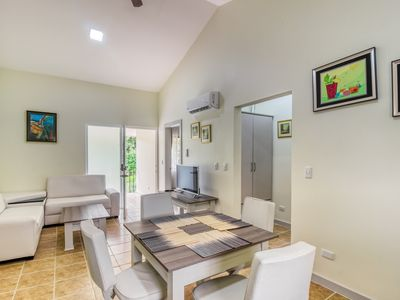 Photo for Cozy apartment in a great location w/ shared pool, pool spa, gated entrance