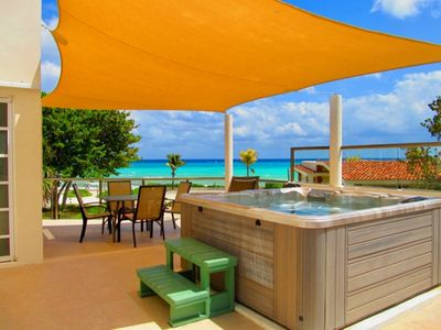 Photo for Ocean view private pool house for 8 in Playacar Phase 1
