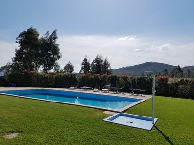 Photo for Luxury villa with spa + pool in a very quiet location surrounded by nature 20 min. Postage!