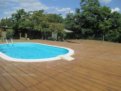 Photo for House climate with private pool at the foot of Albéres, Near the sea
