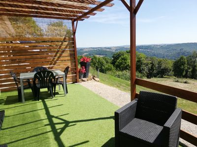 Photo for Gîte with beautiful panoramic views.