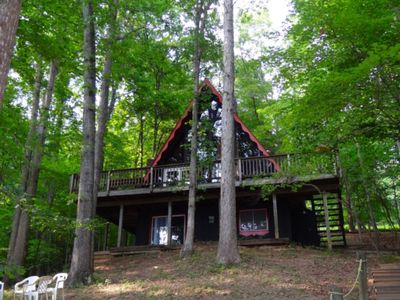 Photo for Jordan's Chalet - A Frame Chalet with Sundeck and Great View