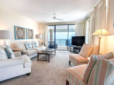 Photo for White Caps 1406 | Gulf Front Corner Unit | BEAUTIFUL Views | Liquid Life Rentals