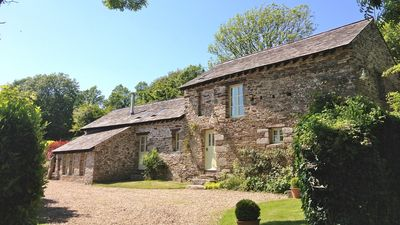 Photo for NEW. Luxury detached cottage with 12 acres of grounds, near Fowey, pets welcome