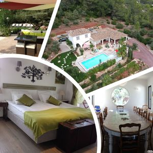 Photo for LUXURY VILLA WITH CHARMING PROVENCAL CONTEMPORARY SWIMMING POOL 5 ROOMS 10 PERSON