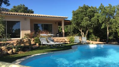 Photo for Villa with private pool 10 minutes from the most beautiful beaches of Porto Vecchio