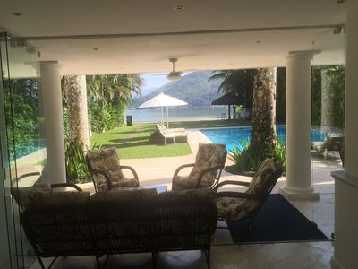 Photo for Linda Mansion Beira Mar with 5 suites, pool, incl. cook and housekeeping