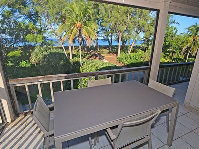 Photo for Gulf and Beach Views from this Two Bedroom Condo with Loft! South Seas Beach Cottage 1406