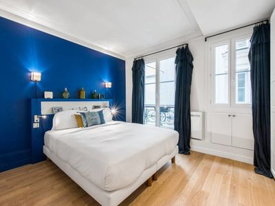 Photo for Amazing new flat for 2, near Sacré-Coeur!