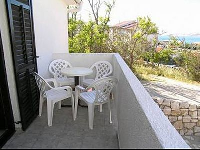 Photo for Apartment Here  A2 (2+1) 1. KT  - Pag, Island Pag, Croatia