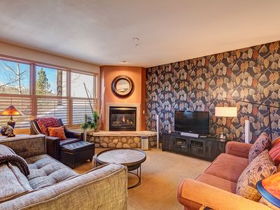 Photo for Two blocks to Breckenridge Main Street, Beautiful views, Outdoor hot tubs!