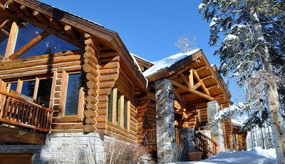 Photo for Stunning 5 Bedroom Log Home in Mountain Village