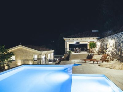 Photo for ctim241- Imotski - Makarska, holiday house with private pool suitable for 8 + 3 persons, surrounded only by greenery, without neighbors