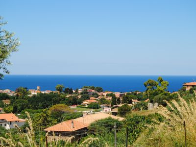 Photo for Detached house with great views of the sea and mountains, ideal with a dog