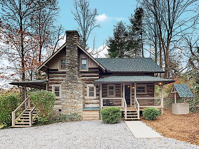 New Listing! Beautifully Updated Cabin on 2 Acres w/ Hot Tub & Fire Pit