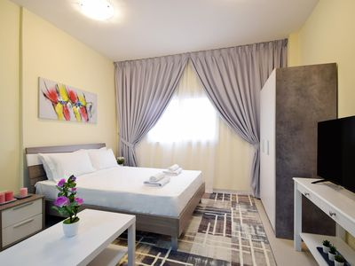 Photo for Lovely Studio Apartment Dubai Silicon Oasis