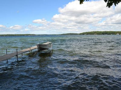 Photo for All sports Long Lake in Traverse City-Waterfront cabin-Air- Pet considered