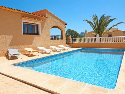Photo for Vacation home Las Rocas (CLP212) in Calpe/Calp - 7 persons, 3 bedrooms