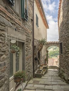 Photo for The Holiday Home Tower in Medieval Tuscany Village