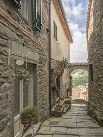 Suspension Bridge of San Marcello Pistoiese, San Marcello Pistoiese, Italy