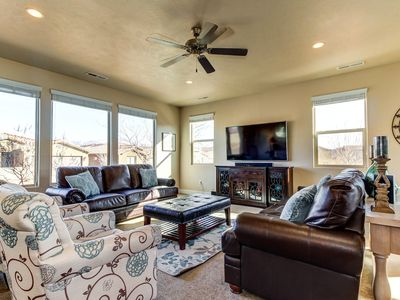 Photo for Stunning new home w/ private hot tub & shared pool, fitness, & more!