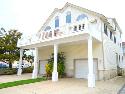 Photo for Lovely beachblock townhome located in the heart of Sea Isle. Steps to the Promenade and Beach.