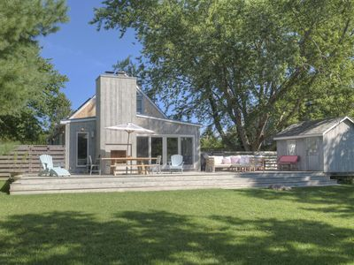 Photo for Perfect Bright Beach Cottage, a Happy Home in Prime South-of-Highway Location