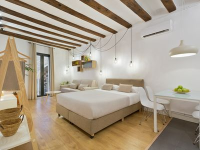 Photo for Cozy and elegant studio in the city center