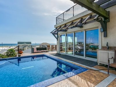 Photo for Spectacular Beach Home w/Pool on the 3rd Floor Outdoor Living Area!!!